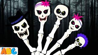 Skeleton Finger Family | Skeleton Family Song | Halloween Finger Family Song | All Babies Channel