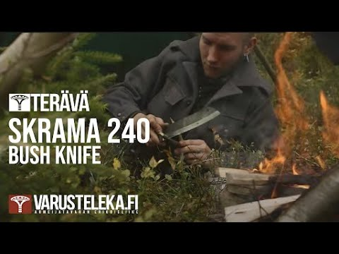 Bush - Tehtiin tämmönen simppeli esittelyvideo Skramasta. http://www.varusteleka.fi/fi/product/varusteleka-skrama-hiiliteras-nahkatupella/30189 A simple little presentation video for the Skrama...