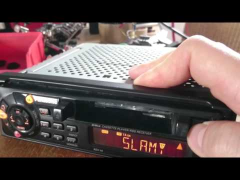 Panasonic bmw car stereo