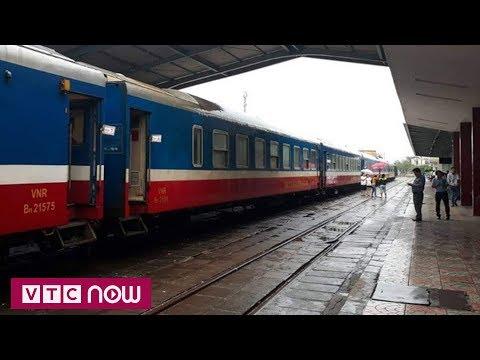 Thông tuyến đường sắt Bắc nam sau mưa bão - Thời lượng: 49 giây.