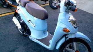 10. KYMCO PEOPLE 50 BLUE