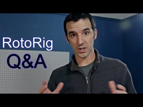 RotoRig Update:  Q&A About Parts, Monopods, and Other Things