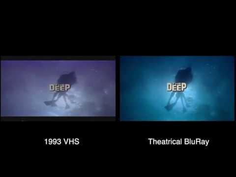 The DEEP (1977) Rare 1993 VHS Vs BluRay Theatrical