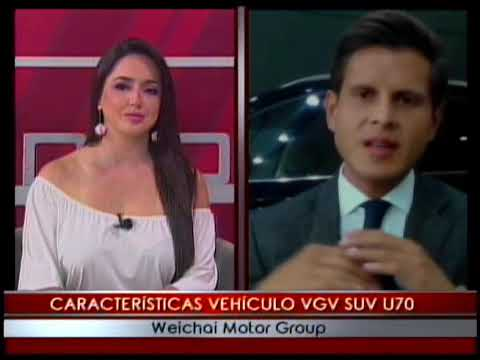 Características vehículo VGV SUV U70 Weichai Motor Group