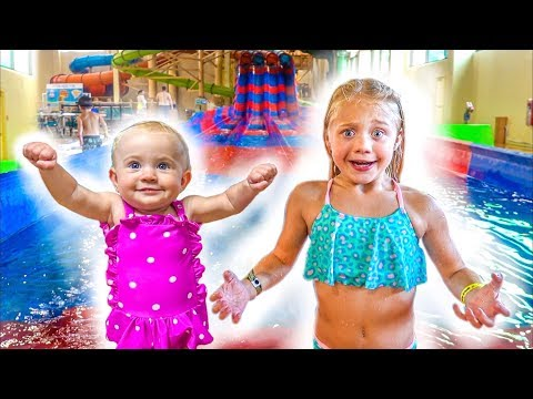 The LaBrant Family Braves The Worlds Largest Indoor Waterpark!!!