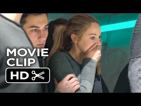Divergent Movie CLIP - Hang On (2014) - Shailene Woodley Movie HD