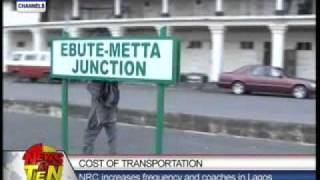 Nigerians embrace the railway option