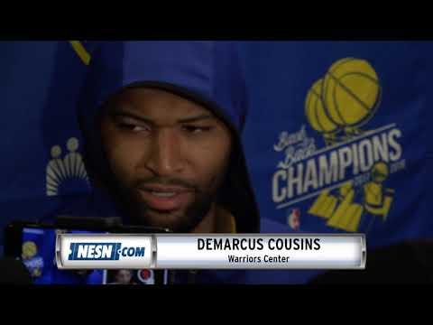 Video: DeMarcus Cousins Warriors vs. Celtics Postgame Press Conference
