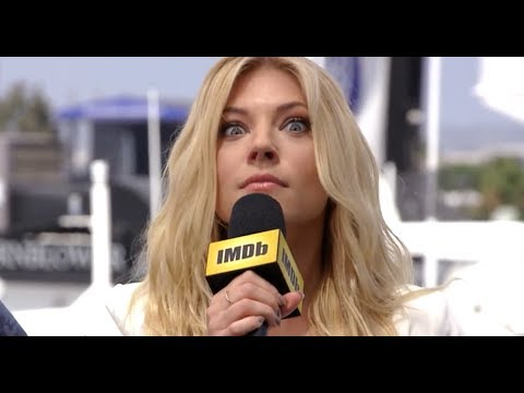 Katheryn Winnick Shows Off Her Superpowers | IMDb EXCLUSIVE