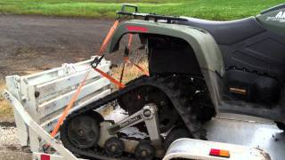 9. Arctic Cat 700s with Tiger Track