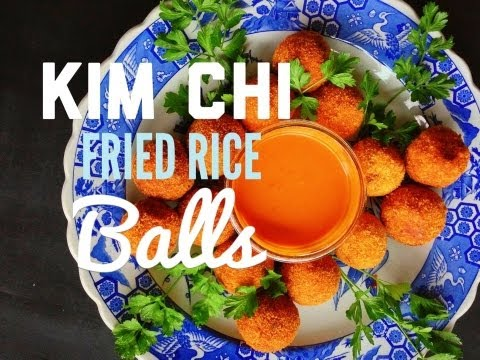 Cook Vegan – Kim Chi Fried Rice Balls