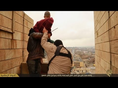 ISIS Throws Men Off Building for 'Being Gay'