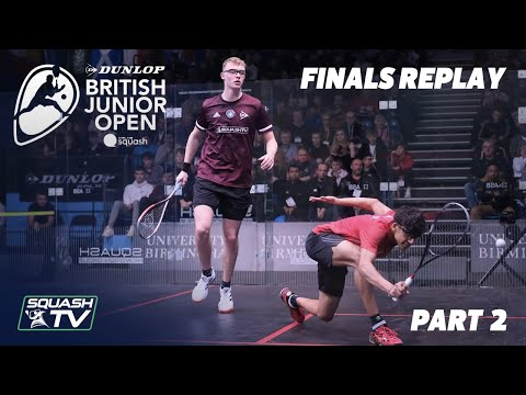 Squash: Dunlop British Junior Open 2020 - Finals - U17 + U19