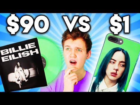 Can You Guess The Price Of These Billie Eilish Products!? (game)