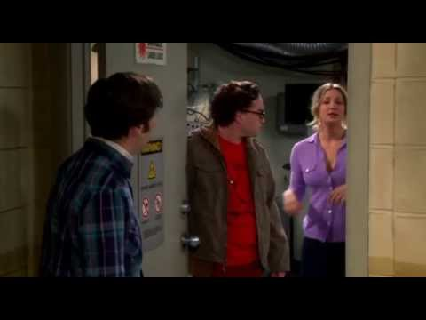 S07E04 TBBT - Leonard and penny have been having sex in the science lab