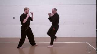 Green Belt Partner Front Kick