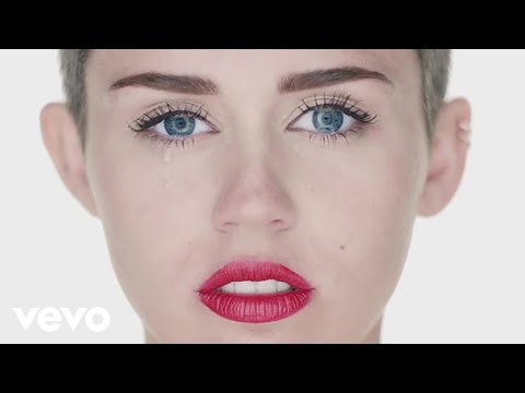 Miley Cyrus - Wrecking Ball (видео)