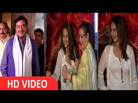 Satrughan Sinha | Sonakshi Sinha | Poonam Sinha At | Screening Of | Film Akira