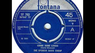 "Video SPENCER DAVIS GROUP ""Gimme Some Lovin"" 1966  HQ MP3, 3GP, MP4, WEBM, AVI, FLV Juni 2018"