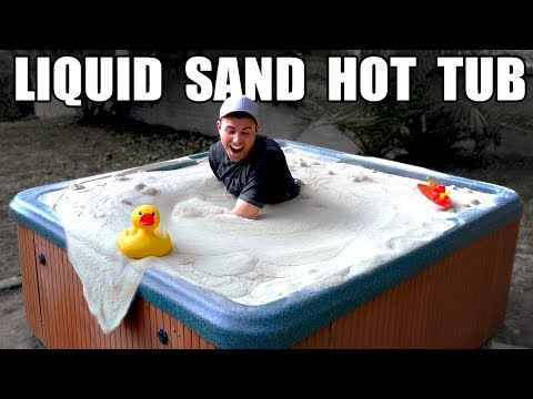 Liquid Sand Hot Tub- Fluidized Air Bed