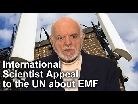 International Scientist Appeal on Electromagnetic Fields (EMF) Martin Blank PhD Spokesperson