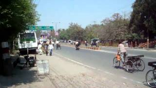 Aligarh India  City new picture : A street in Aligarh (India)