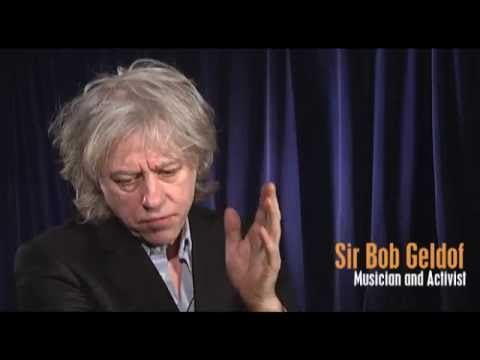 Sir Bob Geldof discusses the social impact of mobile technology