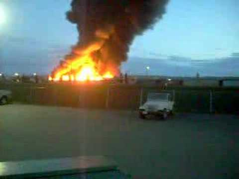 Lumber Mill Burns