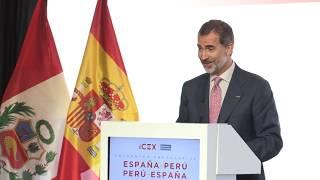 Palabras de S.M. el Rey en el encuentro empresarial España - Perú