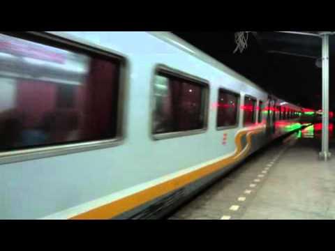 [8-MAR-2012] KA Taksaka Malam (Night) 42 Passing Cirebon Prujakan Station