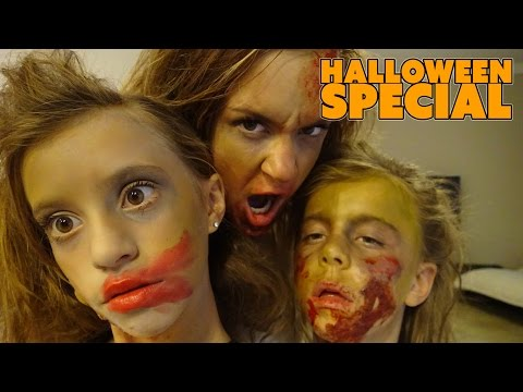 ☠ HALLOWEEN SPECIAL ☠ SPOOKTOBER ☠ THE ZOMBIE FAMILY☠ SMELLY BELLY TV (видео)