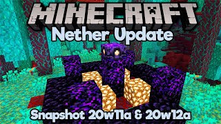 Nether Respawn Anchors, 0-tick fixes & AFK fishing nerfed! • Minecraft 1.16 Snapshot 20w11a & 20w12a