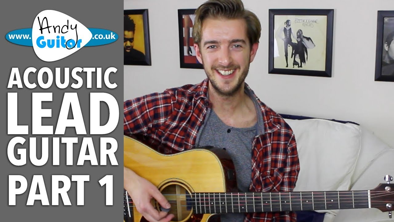 Major Scale Position 1 – Acoustic Lead Guitar Lesson #1