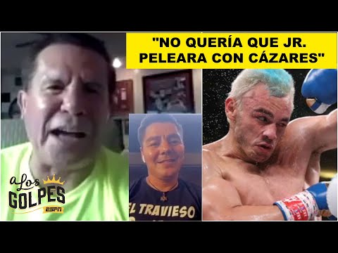 Julio César Chávez NERVIOSO por pelea del hijo y listo para ganarle al Travieso Arce   A los Golpes
