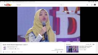 Video Penampilan Terakhir Boah di SUCI 7 Show 12 MP3, 3GP, MP4, WEBM, AVI, FLV November 2017