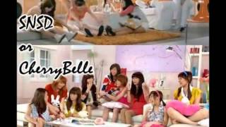 Video Girls' Generation VS Cherry Belle MP3, 3GP, MP4, WEBM, AVI, FLV April 2018