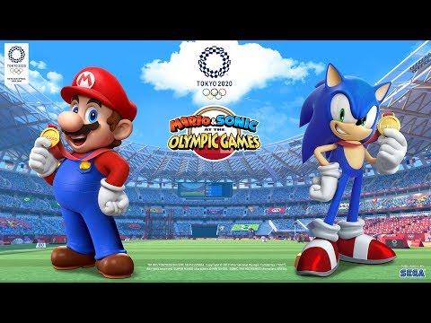 Reveal Trailer de Mario & Sonic aux Jeux Olympiques de Tokyo 2020