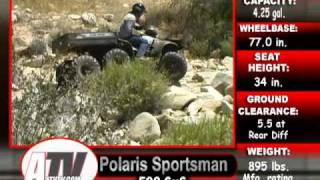 4. ATV Television Test - 2004 Polaris Sportsman 6x6