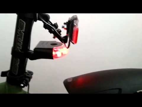 Fahrrad Rücklicht 2 in 1