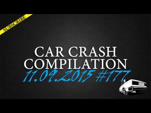 Car crash compilation #177 | Подборка аварий 11.09.2015
