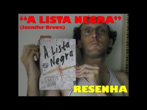"""""""A Lista Negra"""" (Jennifer Brown) - Resenha"""