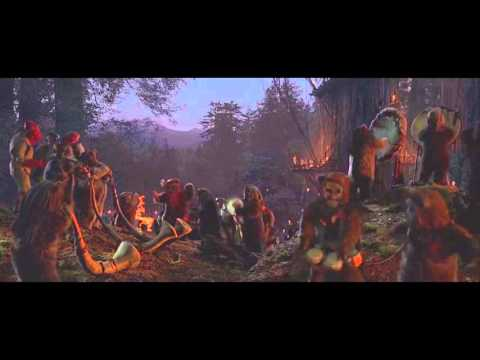 Star Wars: Return Of The Jedi 2011 Blu-Ray Ending With Sebastian Shaw