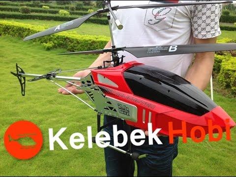 En Büyük RC Uzaktan Kumandalı Model Helikopter