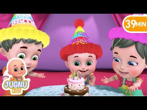Video জন্মদিন - Birthday Song - Bengali Rhymes for Children | Jugnu Kids Bangla download in MP3, 3GP, MP4, WEBM, AVI, FLV January 2017