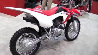 7. 2017 Honda CRF125F Features Exclusive Edition Walkaround Review Look in HD