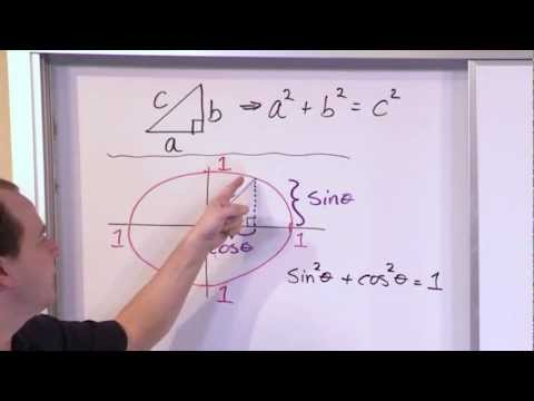 Identities - Learn what a pythagorean trig identity is and how to use it to solve problems in trigonometry.