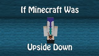 If Minecraft Was Upside Down (ItsJerryAndHarry)