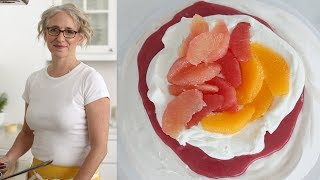 Cranberry-Curd-and-Citrus Pavlova- Everyday Food with Sarah Carey by Everyday Food