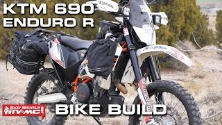 6. KTM 690 Enduro Bike Build