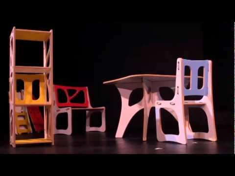 Gypsy modular des meubles qui s assemblent sans outil for Meuble qui s emboite